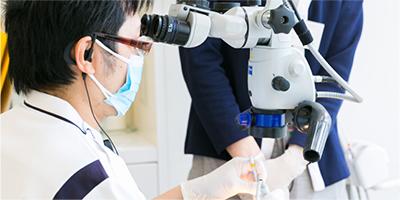 最新設備を用いた専門治療ができます!